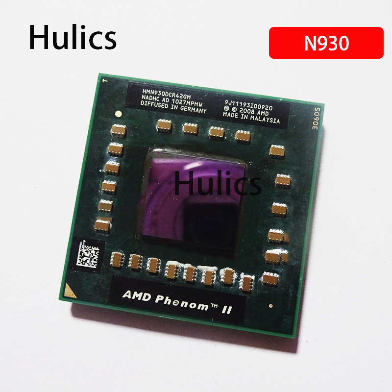 Hulics Original AMD Phenom Cpu Processor N930 HMN930DCR42GM 2.0Ghz/2M Socket S1 638 Pin PGA Computer 2008 CPU