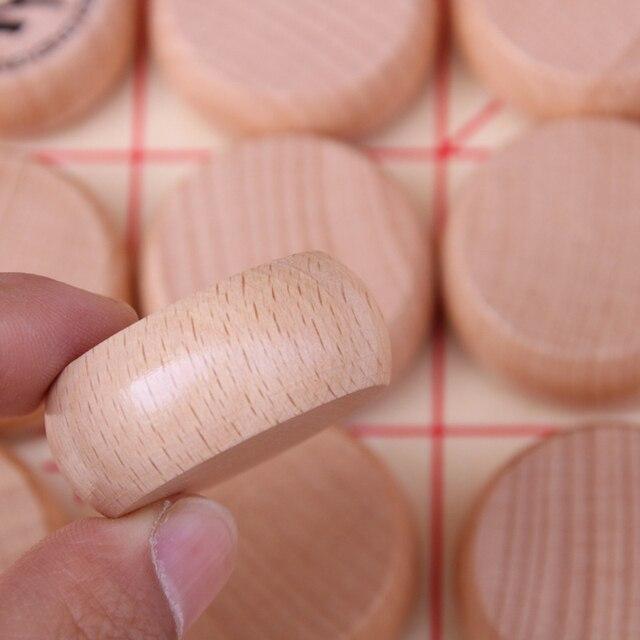 Jeu de xianqi traditionnel (échecs chinois) plateau pliable. 4
