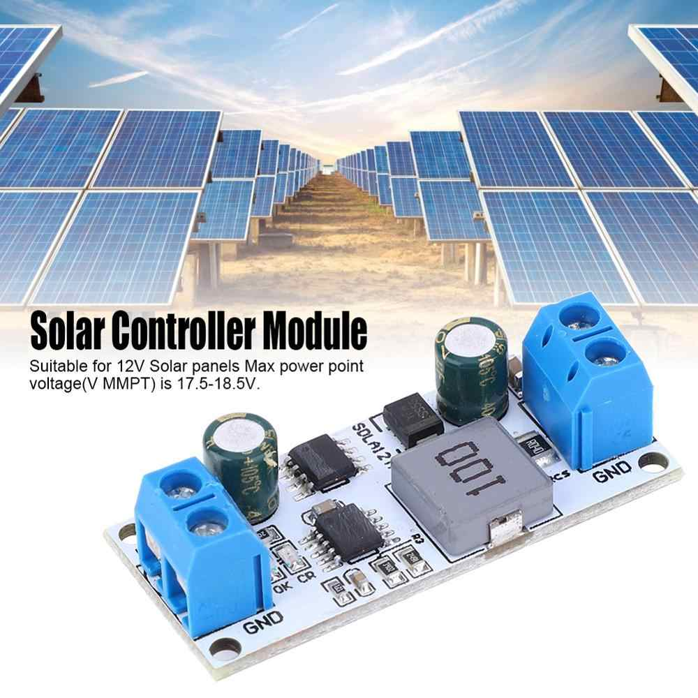 5pcs 0 5 4a Sdla12ta Mppt Solar Panel Controller Charging Module For 12v Lead Acid Battery Charger Aliexpress