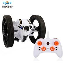 KaKBeir Mini RC Bounce Car Flexible Wheels High Speed Jumpin