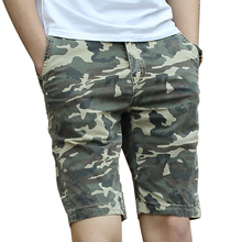 ICCZANA Brand Shorts Mens Camouflage Cargo Shorts Military Army Style Beach Shorts Loose Baggy Pocket Army Tactical Shorts 2215