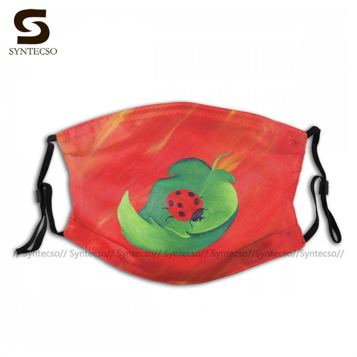 Unisex Fantasy A Little Cup Of Luck Facial Mask Sublimation Printed Bike Cloth Face Mouth Mask With Filters