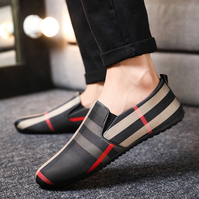 Men's Fashion Sneakers High Quality Trend Outdoor Men Leather Casual Shoes Trend Hot Sale Adult Driving Shoes  Men Loafers Shoes