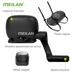 Image 4 - Meilan C3 беспроводной датчик скорости/частоты вращения педалей Водонепроницаемый Bluetooth BT4.0 датчик e