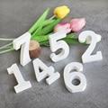 1pc números de madeira branca alfabeto palavra número de mesa de madeira decorativa arte artesanato livre pé casamento casa festa decoração