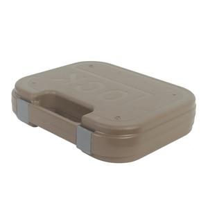 Image 4 - Glock tático abs caso pistola coldre caixa de engrenagem dura arma saco acolchoado forro de espuma para caça tiro acessórios