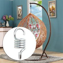 2021 New 500lb Weight Capacity Sturdy Steel Hammock Extension Spring Hanging Swing Chair