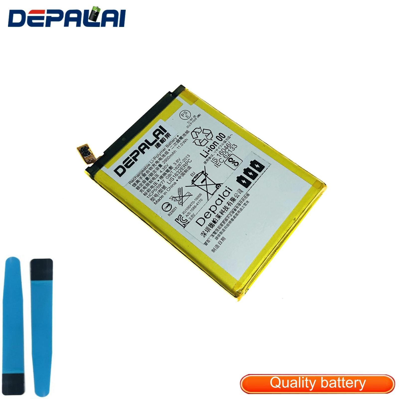 Good quality Replacement <font><b>Battery</b></font> For SONY <font><b>Xperia</b></font> <font><b>XZ</b></font> F8331 F8332 DUAL LIS1632ERPC <font><b>Battery</b></font> 2900mAh image