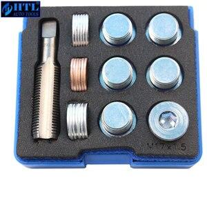 Image 2 - M13 x 1.25 to M22 x 1.5mm (pitch) Tap & Oil Drain Plug Screws Repair Bolt Select M13 M15 M17 M20 M22
