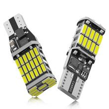 2x canbus t15 w16w lâmpadas led sem erro backup do carro reversa luzes t10 w5w 4014 luzes led trun luz de sinal para bmw hyundai branco