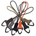 Шнурок ручной работы шнур плетеный тактический Ножи Шестерни ремешок с зажимом выживания брелок ремешки