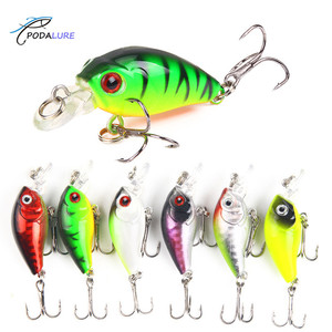 Minnow Fishing Lures Crankbaits Hard Bait Artificial Topwater Lure Wobbler Bass Fly Fishing Tackles Minor