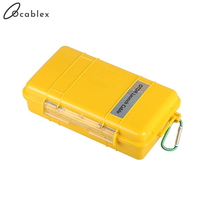 Glasvezel OTDR Launch KABELBOX 1km SM Single Mode FC/UPC FC/UPC OTDR Dode Zone Eliminator fiber Ringen - 4