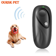 Portable Handheld Ultrasonic Dog Anti Barking Stop Repeller Regulator for Repellent Simulator Device 2 in 1 Anti Barking Trainer
