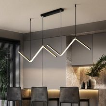 Led-Pendant-Light Strip Suspension-Chandelier-Lamps Home Lighting Dining-Room Living