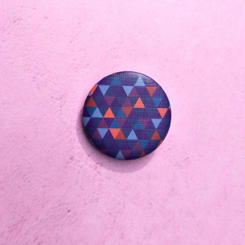 Nengdou T10 pop art pin moda odznaka okrągłe ikony na ubrania słodkie śmieszne pin cartoon broszka na kurtkę DIY rzemiosło plecak ikony
