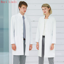 Ruyi- Orthopaedic doctor oral dentist doctors clothing white gown long sleeves operating coat surgical beauty salon work