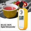 RZ Rifrattometro Digitale Display LCD 0.0 ~ 94.0% Brxi Succo di Frutta Zucchero Metro Rifrattometro DR102