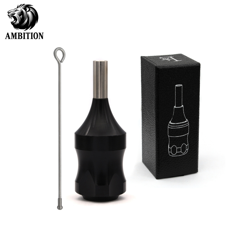 Ambition Tattoo Grip 30 Mm Unadjustable Aluminum Alloy Cartridge Grip Tube For Female Small Hand