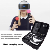2019 Newest Hard Case for Sony Playstation 4 PS4 VR(PSVR) Virtual Reality Headset Launch Bundle &PS4 Slim Console &Accessories