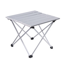 Outdoor Aluminum Folding Table Camping Portable Barbecue Table Portable Multi function Ultra Light Mini Picnic Table