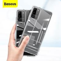 Baseus-funda de teléfono transparente para Samsung Galaxy S20 Plus, funda trasera fina de TPU suave y transparente para Samsung S20