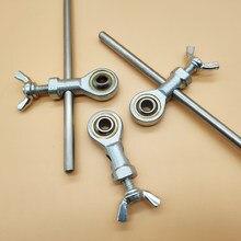 Acessórios do apontador, peças do rolamento do slider rx008 do metal ruixin pro, controle deslizante plástico da substituição, profissional desgastar-resistente
