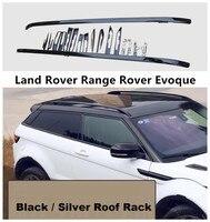 Багажник на крышу багажные стойки для Land Rover Range Rover Evoque 2011-2019 высококачественные алюминиевые автомобильные аксессуары