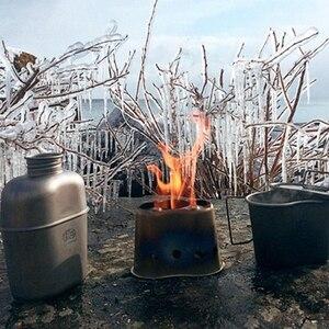 Image 5 - Keith Titanium 1100ml czajnik sportowy i 700ml tytanowe pudełko na Lunch Camping armia butelki na wodę kuchenka na wodę Ultralight Ti3060
