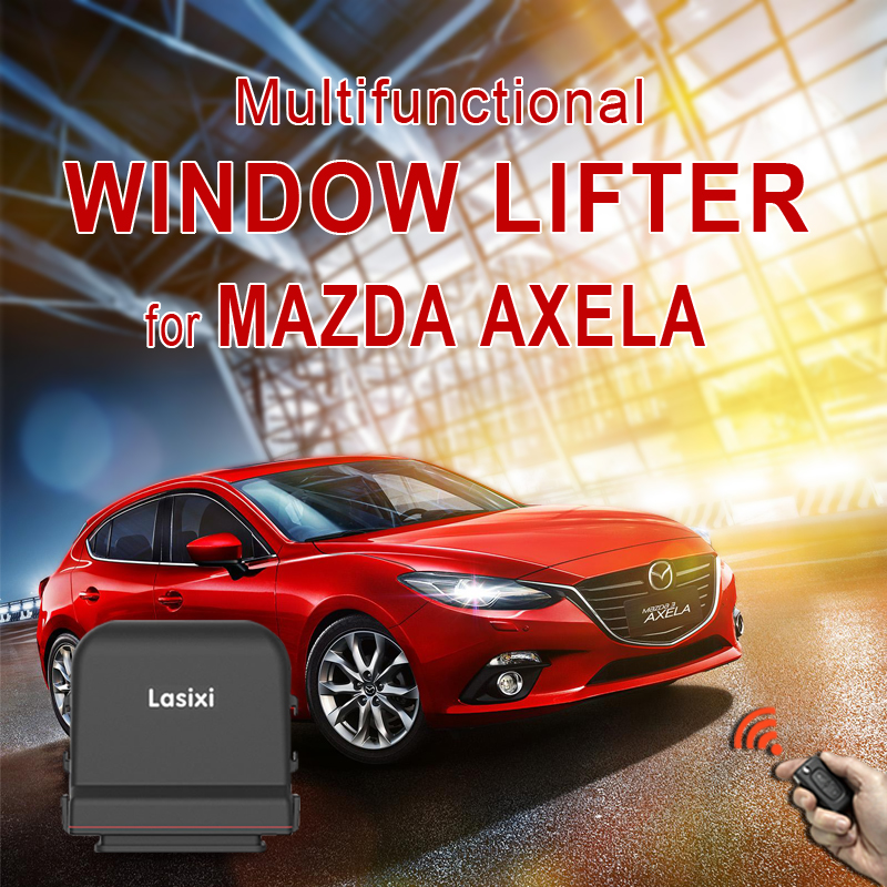 Original car Power Window Closer Windows Roll up and down Side View Mirror Folding System For MAZDA 3 Axela Power Window Lifting