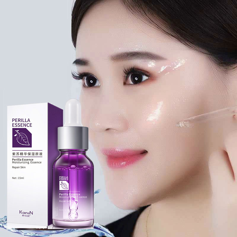 Hyaluronic Acid Serum Facial Perilla Skin Care Whitening Face Serum Shrink Pores Hylaronic Acid Essence Anti Aging Oil Control