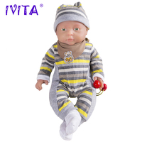 IVITA WG1503 41cm 2kg Silicone Reborn Baby Dolls Lifelike Soft Body Girl Toys Juguetes for Dink Family Over 3 Years Old Kids