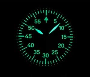 Image 5 - 44mm nie logo czarna tarcza dwie ręce azjatyckich 6497 17 klejnotów mechaniczne ręcznie nakręcany ruch mężczyzna zegarka zegarek świetlny pa173 pp8