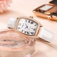 Relogio Feminino CARNIVAL Luxury Brand Women Watches Ladies Waterproof Rose Gold Automatic Mechanical Wrist Watch Calendar Clock