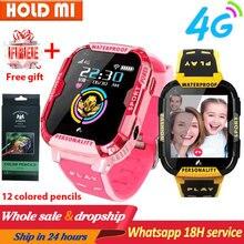 KG70 4G sieć Wifi GPS SOS inteligentny zegarek dzieci wideo zadzwoń IP67 wodoodporny budzik aparat dziecko zegarek VS Q50 Q90