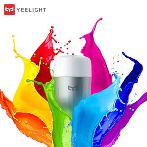 Image 1 - New In Stock Original Yeelight Blue II LED Smart Bulb ( Color )E27 9W 600 Lumens Light Smart Phone WiFi Remote Control