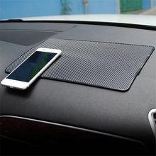 Car-slipmata klocki samochodowe mata do przechowywania klocki samochodowe mata antypoślizgowa slipmata Auto silikonowe wnętrza deski rozdzielczej telefon-slip mata do przechowywania klocki