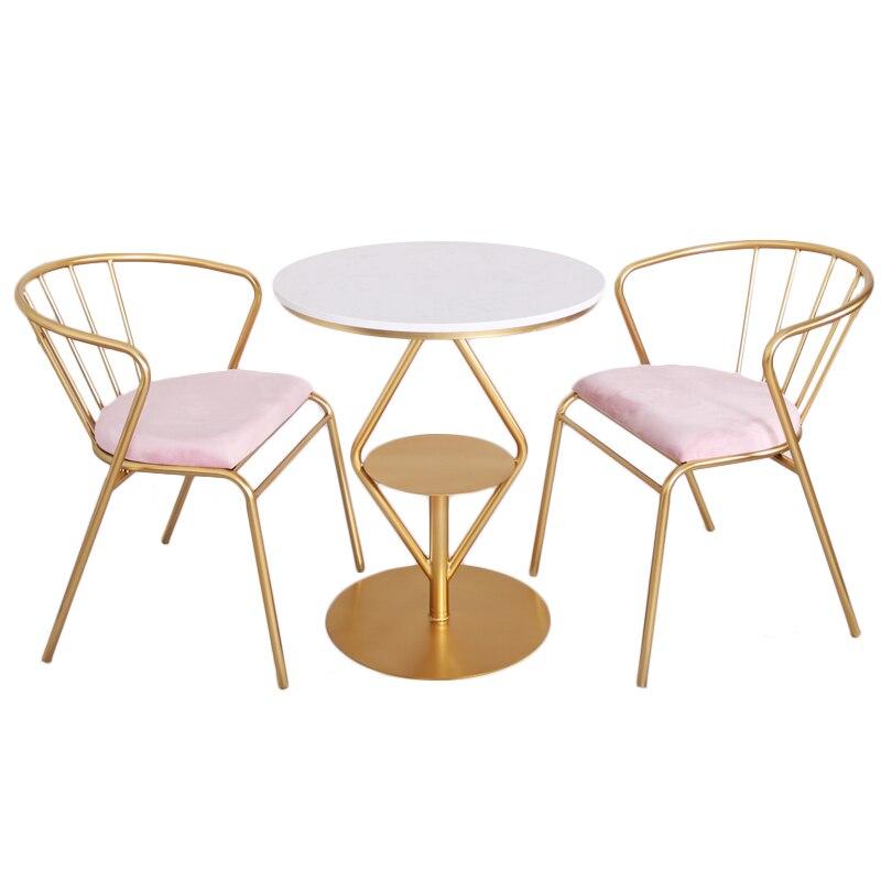 Nordic Chair Modern Dining  Chair Gold Metal Chair Light Extravagant Makeup Chair Living Room Furniture Sallanan Sandalye Cheap