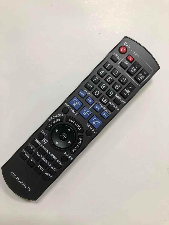 Новый оригинальный пульт дистанционного управления Управление для цифрового фотоаппарата Panasonic N2QAYB000199 DVD проигрыватель ТВ Fernbedienung DMR-EZ47VP DMR-ES15 DMR-ES15EBL DMR-ES46V DM