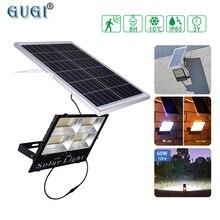 Sıcak/beyaz kısılabilir açık güneş projektör su geçirmez Solar ampul sokak lambası güneş enerjili spot Led reflektör bahçe için
