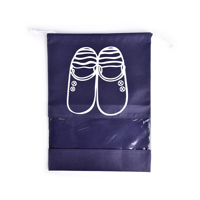 Waterproof Non-woven Portable Shoes Bag Clothes Travel Storage Pouch Drawstring Dust Bags