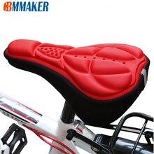 Assento de bicicleta macio 3d homem mulher sela esponja ciclismo peças acessórios peças reposição para bicicleta montanha estrada sattel