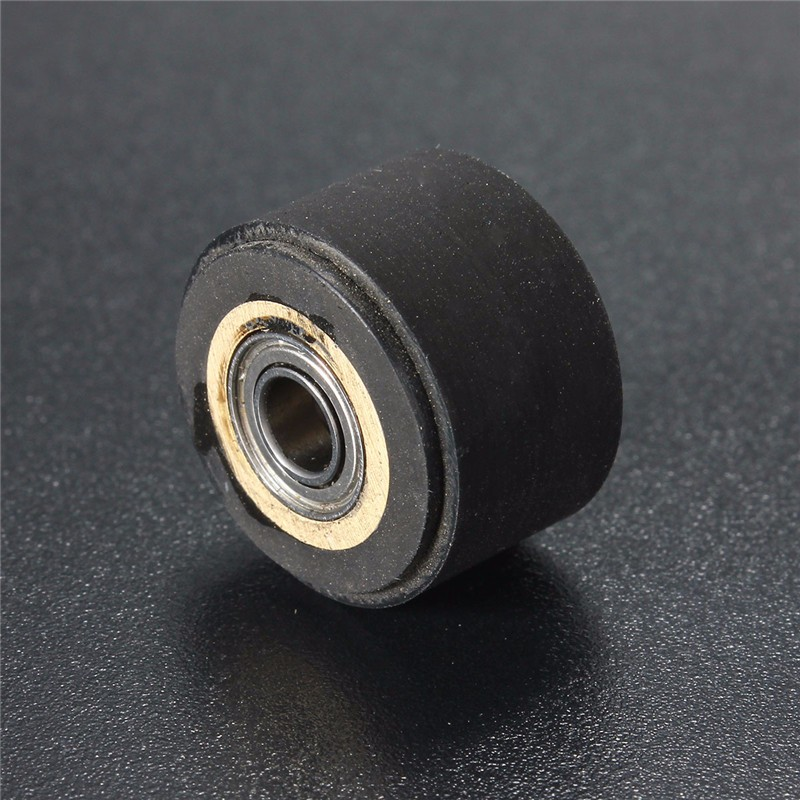 3pc Pinch Roller Wheel For Roland Mimaki Graphtec Vinyl Cutter Printer Cutting Plotter Rubber Pressure Wheel Bearing Copper Core