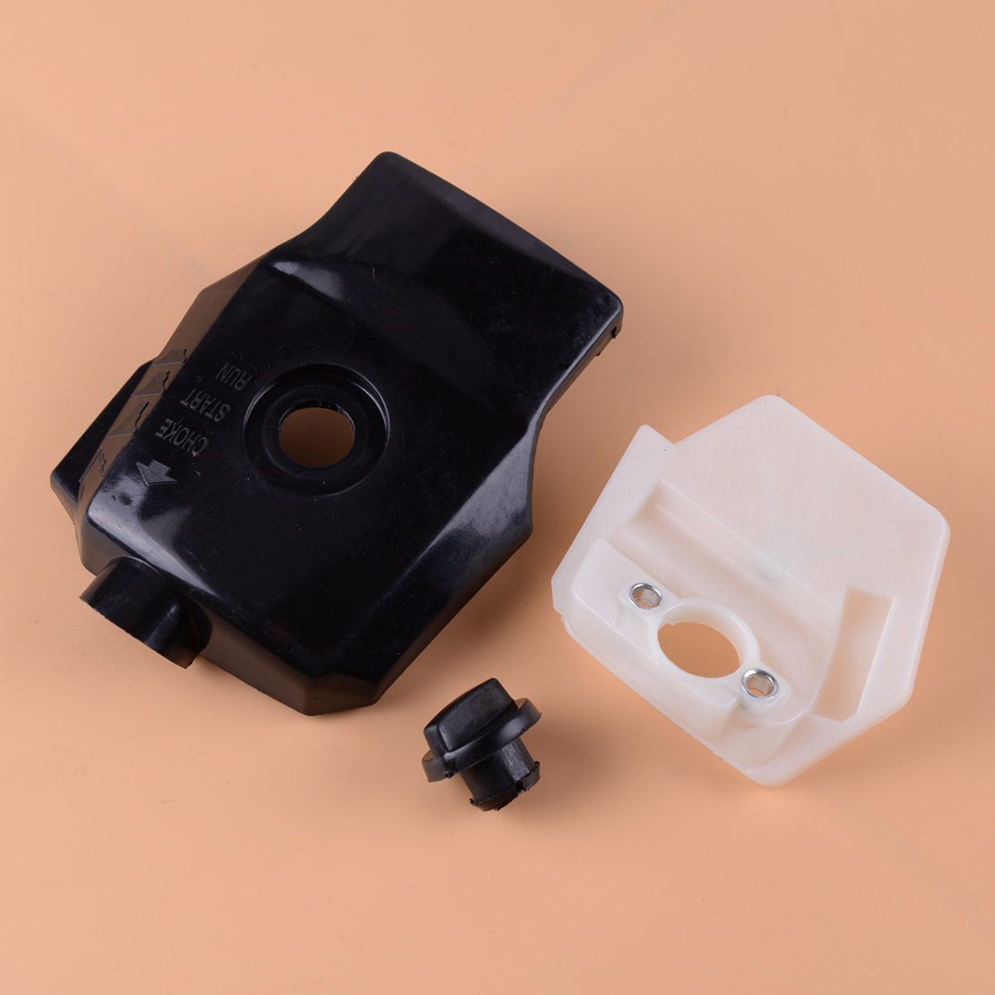 LETAOSK 3pcs Plastic Air Filter Cleaner Cover Housing Kit Parts Fit For Chinese Chainsaws 2500 25cc Timberpro Lawnflite Carlton