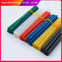 Цветной клей-карандаш 10 шт. 7/11x270 мм, палочка для термоплавкого клея диаметром 7 мм/11 мм, бытовой промышленный клей-карандаш «сделай сам»