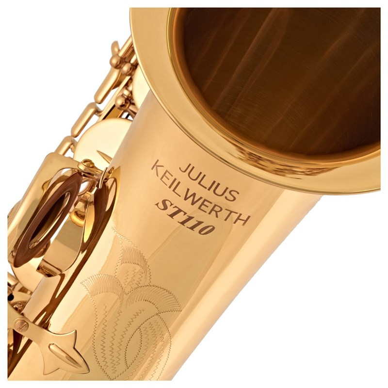 Germany Keilwerth JK SX90R Tenor Saxophone B Flat Brass Nickel Plated Musical Instruments Sax With Case Mouthpiece