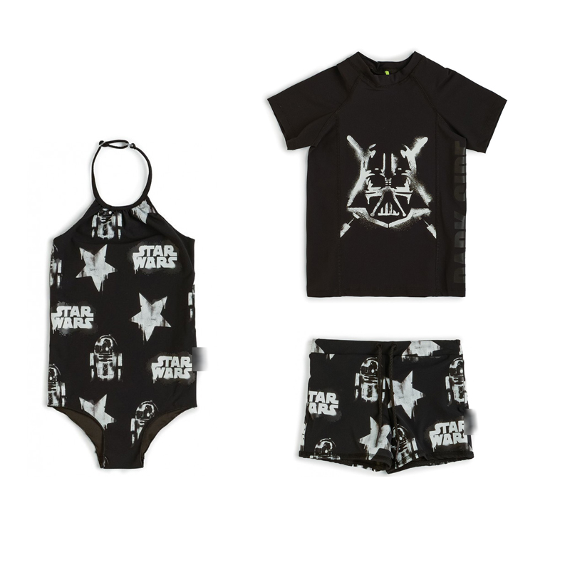 2021 New Summer Brand Design Kids Swimwear Sets for Boys Girls Fashion Print Swimsuits Baby Child Cute Bikini Outfits Clothes