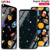 Space Planet Stars for OPPO Reno Z 10X Zoom F11 F9 F7 F5 A7 R9S R17 Realme 2 C2 K3 Pro Super Bright Glossy Phone Case Cover talberg space pro 2