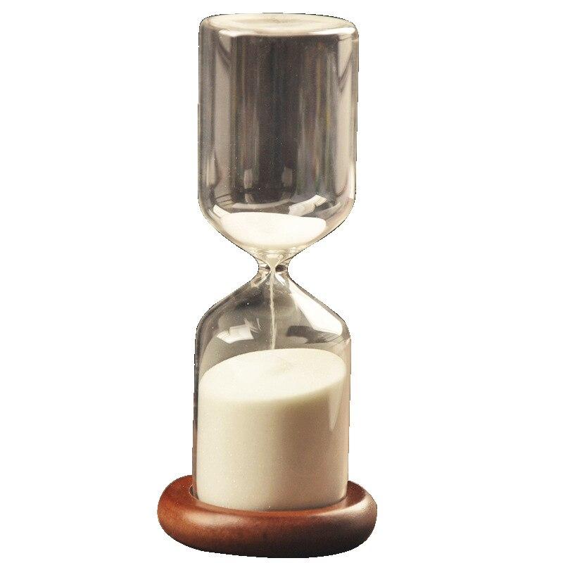 Creative Glass Sandglass Sand Hourglass 30 Minute  Countdown Timer Clock Xmas Birthday Gift Home Decoration Valentine's Day
