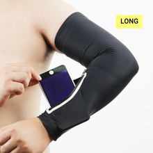 1Pc Brand New Unisex Short Arm Warmer for Mobile Phone Stretch Arm Bag Running Riding Sunscreen Armband Wrist Bag Hot Sale